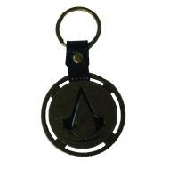 Assassin's Creed Unity - Porte-clés métal Logo & PU Snap