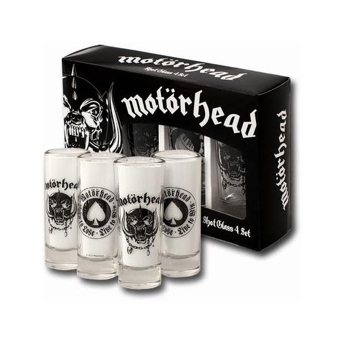 Motorhead - Set 4 verres à liqueur