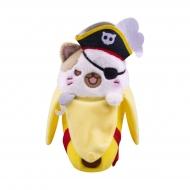 Bananya - Peluche Pirate Bananya 18 cm