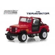 Terminator - Réplique 1/18 métal Jeep CJ-7 Renegade 1983