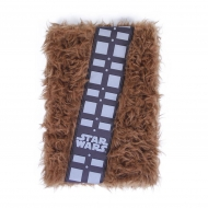 Star Wars - Carnet de notes peluche Premium A5 Chewbacca