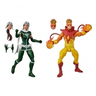 X-Men Marvel Legends - Pack 2 figurines 's Rogue & 's Pyro 15 cm
