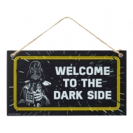 Star Wars Fathers Day - Panneau bois Welcome To The Dark Side