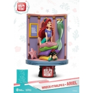 Ralph 2.0 - Diorama D-Stage Ariel & Vanellope 15 cm