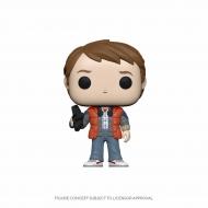 Retour vers le Futur - Figurine POP! Marty in Puffy Vest 9 cm