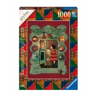 Harry Potter - Puzzle At The Weasley's (1000 pièces)