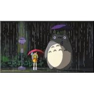 Mon voisin Totoro - Tableau bois Bus Stop