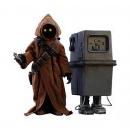 Star Wars Episode IV - Pack 2 figurines Movie Masterpiece 1/6 Jawa & EG-6 Power Droid 18-21 cm