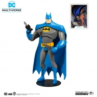DC Multiverse Animated - Figurine Animated Batman Variant Blue/Gray 18 cm