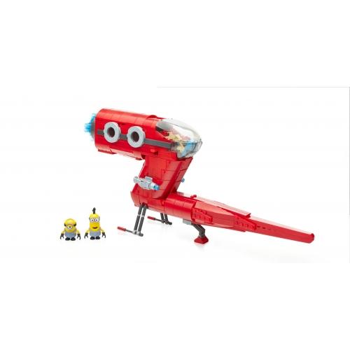 Minions - Mega Bloks jeu de construction Supervillain Jet
