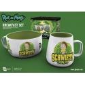 Rick et Morty - Set petit-déjeuner Get Schwifty