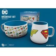 DC Comics - Set petit-déjeuner Logos DC Comics