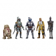 Star Wars Celebrate the Saga - Pack 5 figurines Bounty Hunters 10 cm
