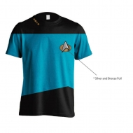 Star Trek - T-Shirt Uniform Blue