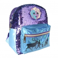 La Reine des neiges 2 - Sac à dos paillettes Casual Fashion Elsa 21 x 26 x 10 cm