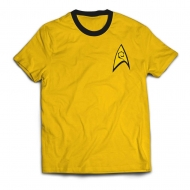 Star Trek - T-Shirt Ringer Command Uniform