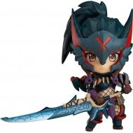 Monster Hunter World Iceborne - Figurine Nendoroid Hunter: Female Nargacuga Alpha Armor Ver. 10 cm