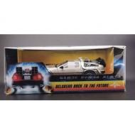 Retour vers le futur - Réplique 1/18 métal DeLorean 1983