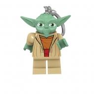 LEGO Star Wars - Porte-clés lumineux Yoda 6 cm