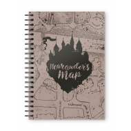 Harry Potter - Cahier Marauders Map