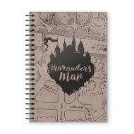 Harry Potter - Cahier Marauders Map