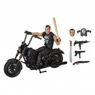Marvel - Figurine Marvel Legends Series avec véhicule 2020 The Punisher 15 cm