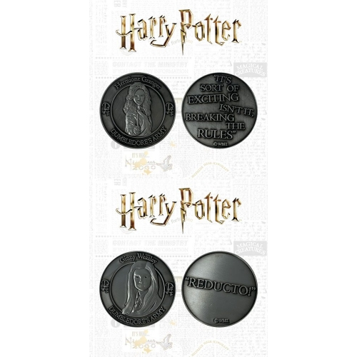 Harry Potter - Pack 2 pièces de collection Dumbledore's Army: Hermione & Ginny Limited Edition