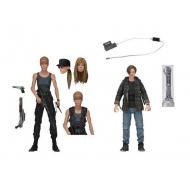 Terminator 2 Le Jugement dernier - Pack 2 figurines Sarah Connor & John Connor 18 cm