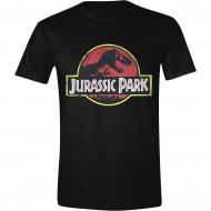 Jurassic Park - T-Shirt Classic Logo Jurassic Park
