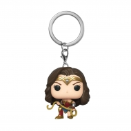 Wonder Woman 1984 - Porte-clés Pocket POP! Wonder Woman 1984 w/ Lasso 4 cm