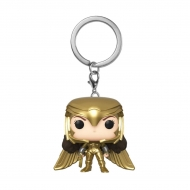 Wonder Woman 1984 - Porte-clés Pocket POP! Wonder Woman (Gold Wing) 4 cm