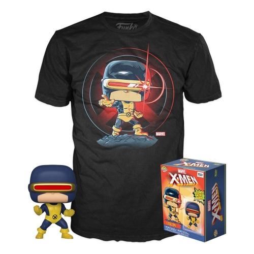 Marvel 80th - Set Figurine POP! & T-Shirt First Appearance Cyclops