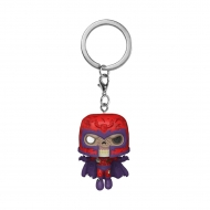 Marvel - Porte-clés Pocket POP! Zombie Magneto 4 cm