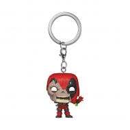 Marvel - Porte-clés Pocket POP! Zombie Deadpool 4 cm