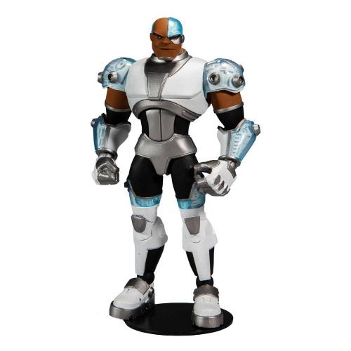 DC Comics - Figurine DC Multiverse Animated Animated Cyborg 18 cm