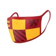 Harry Potter - Pack 2 Masques en tissu Gryffindor
