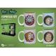 Rick et Morty - Pack 4 tasses Espresso Characters
