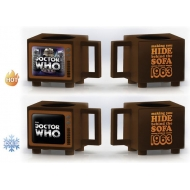 Doctor Who - Mug effet thermique Hide Behind the Sofa