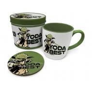 Star Wars - Mug Star Wars avec sous-verre Yoda Best