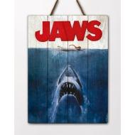 Les Dents de la Mer - Tableau en bois Les Dents de la Mer WoodArts 3D Shark Attack 30 x 40 cm