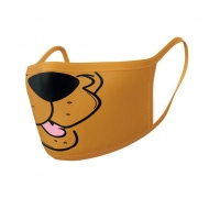 Scooby-Doo - Pack 2 Masques en tissu Mouth