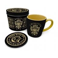 Harry Potter - Mug avec sous-verre Gringotts