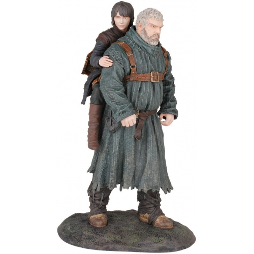 Game Of Thrones - Statuette PVC Hodor & Bran 23 cm