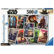 Star Wars The Mandalorian - Puzzle The Child (500 pièces)