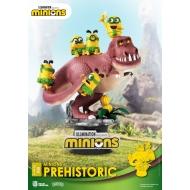 Les Minions - Diorama D-Stage Prehistoric 15 cm