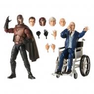 X-Men Marvel Legends - Pack 2 figurines 2020 Magneto & Professor X 15 cm