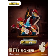 Les Minions - Diorama D-Stage Fire Fighter 15 cm