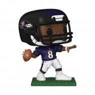 NFL - Figurine POP! Lamar Jackson (Baltimore Ravens) 9 cm