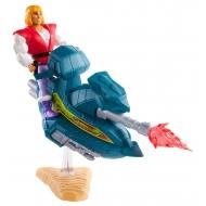 Les Maîtres de l'Univers - Figurine Prince Adam avec Sky Sled 14 cm