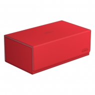 Ultimate Guard - Arkhive™ 800+ taille standard XenoSkin™ Rouge